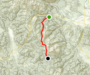 Colorado Trail : Segment 15 Map