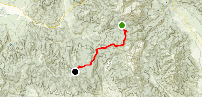 Colorado Trail : Segment 16 Map
