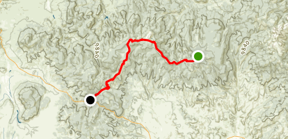 Colorado Trail : Segment 17 Map