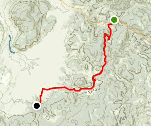 Colorado Trail : Segment 18 Map