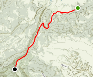 Colorado Trail : Segment 19 Map