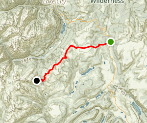 Colorado Trail : Segment 22 Map