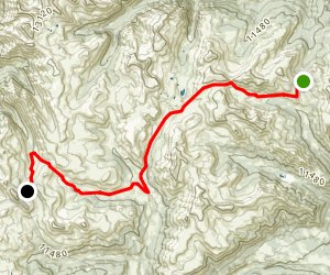 Colorado Trail : Segment 23 Map