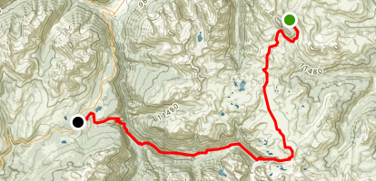 Colorado Trail : Segment 24 Map