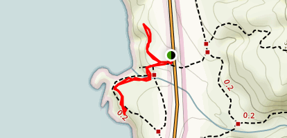 Garrapata Bluff Trail Map