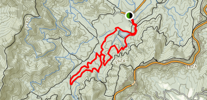 Homestead, Small Creek, Deerfield, Pine Tree and Explorer Loop Map