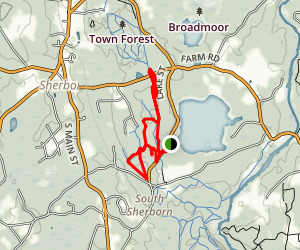 Mount Misery Trail Map