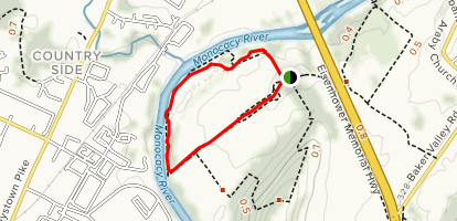 Ford Loop Trail Map