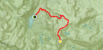 Cloudripper Trail Map