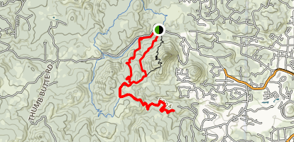 Thumb Butte to Cowboy Prayer Map