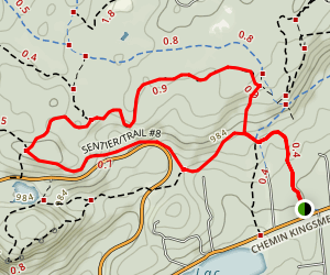 Kingsmere Loop Map