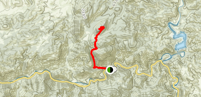 Greyrock Summit Trail Map