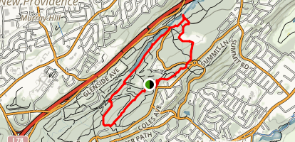 Watchung Reservation Trails Map