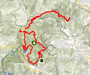 White Hill to 680 Trail  Map