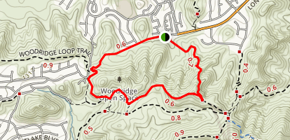 Sunrise Loop Trail Map
