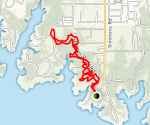 North Shore Trail West Map