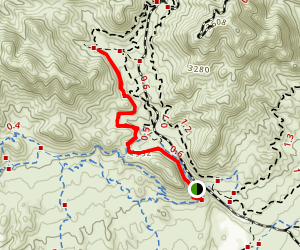 Girl Scout and West Leg Trail Map