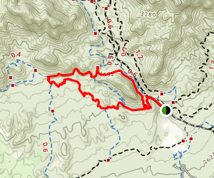 IMBA and West Log Loop Map