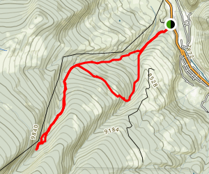 Grouse Creek Map
