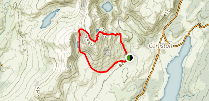 Old Man of Coniston Round Map