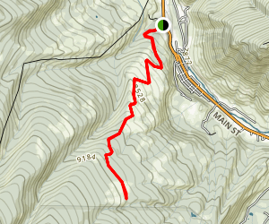 Hay Meadow Trail Map