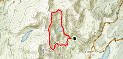 Old Man of Coniston & Swirl How Map