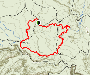 Little Canyon, Great Escape Loop Map
