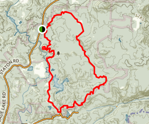 Dupont MTB Loop Map