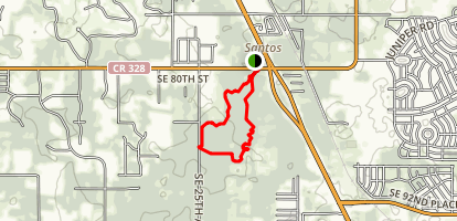 Belleview-Santos Trailhead Map