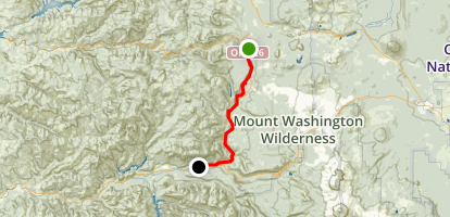 McKenzie River MTB Trail Map