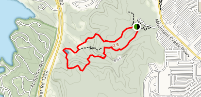 Catpond, Fossil Valley, Red Oak and Escarpment Trail Loop Map