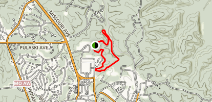 Engineer Fitness Running Trail Map