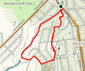 Granite Creek Chong Walkway Loop Map