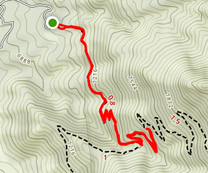 La Luz Trail: Short Version Map