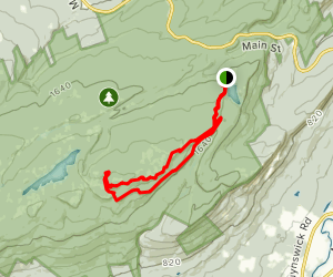 Hamilton Point and Castle Point Loop Map