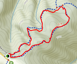 Grizzly Trail Short Loop Map