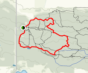 North Face, A Line, B Lister, Burning Bush, and Fire Ant Map