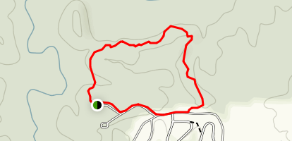 Cottonwood and Deer Run Trails Loop Map