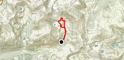 Argentine Pass Trail Map