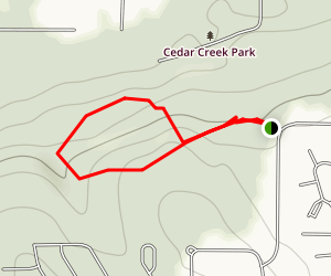Cedar Downs Park Map
