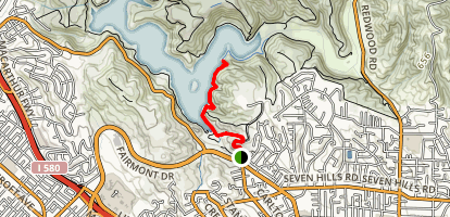 McGregor George and East Shore Trail Map