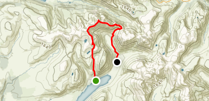Red Pike and Pillar Through Hike Map