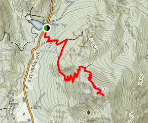 Twin Sisters Peak Trail Map