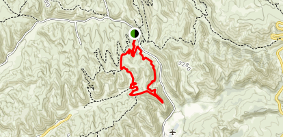 Polehouse Short Loop Map