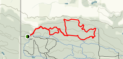 Northface and TP Two Trail  Map