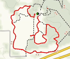 Bluestem Trail Loop Map
