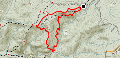 Quarry Track and Forbes Track Map