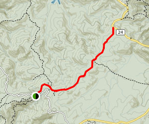 Cutty Grass Track [CLOSED] Map