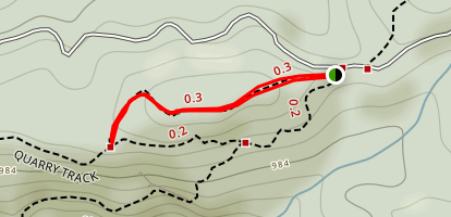 McElwain Lookout Track Map