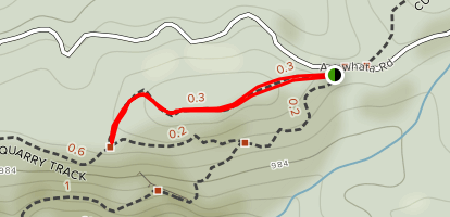 McElwain Lookout Track {CLOSED} Map